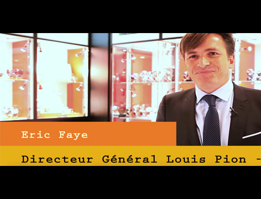 Portrait d'Eric Faye – DG Louis Pion-Royal Quartz