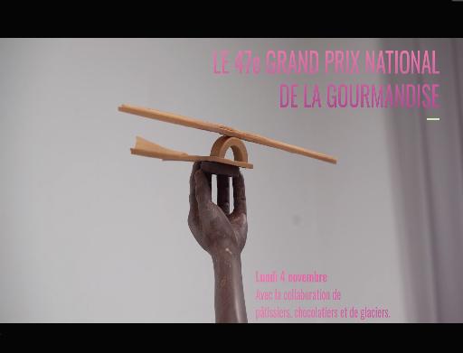 49e Grand Prix National de la Gourmandise